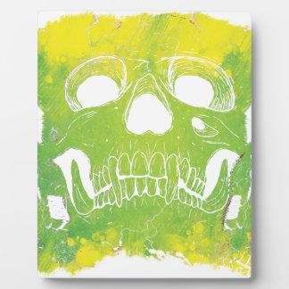 Wellcoda Skull Head Dispersion Skeleton Plaque