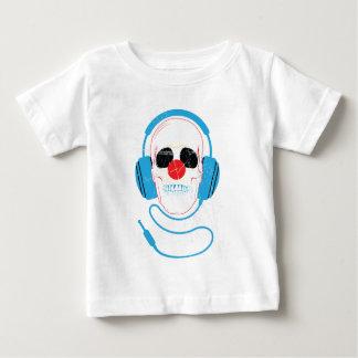 Wellcoda Skull Head Love Music Headphones Baby T-Shirt