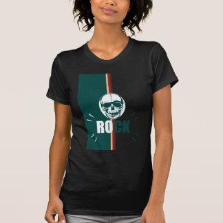 Wellcoda Skull Head Rock Grim Heavy Music T-Shirt