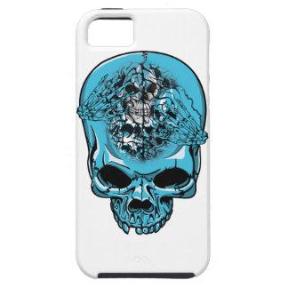 Wellcoda Skull Head Scalp Horror Face iPhone 5 Covers