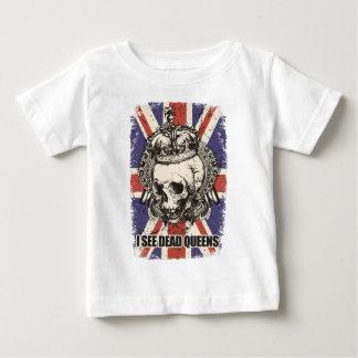 Wellcoda Skull Queen England Skeleton UK Baby T-Shirt