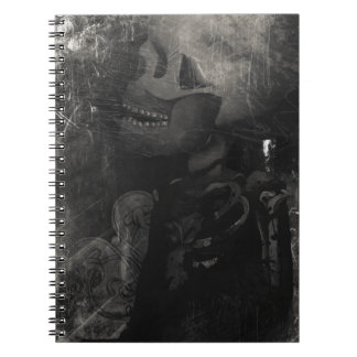 Wellcoda Skull Scary Macabre Power Death Note Book
