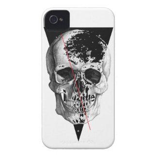 Wellcoda Skull Triangle Death Horror Face iPhone 4 Case