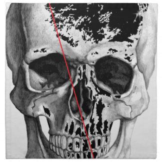 Wellcoda Skull Triangle Death Horror Face Napkin