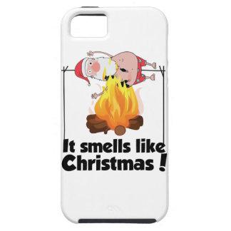 Wellcoda Smells Like Christmas Santa Burn iPhone 5 Covers