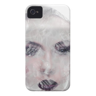 Wellcoda Smoke Make Up Pretty Girl Face iPhone 4 Cases
