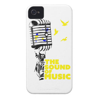 Wellcoda Sound Of Music Sing Microphone iPhone 4 Cover