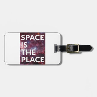 Wellcoda Space Is The Place Fun Big Planet Luggage Tag