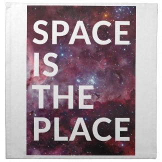 Wellcoda Space Is The Place Fun Big Planet Napkin