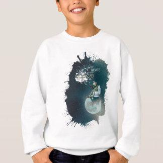 Wellcoda Space Universe Frog Earth Animal Sweatshirt