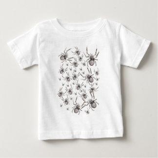 Wellcoda Spider Spooky Fear Tarantula Baby T-Shirt