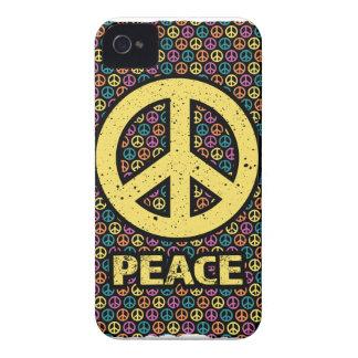 Wellcoda Spread Peace Not War Harmony Fun iPhone 4 Cover