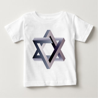 Wellcoda Star Of David Symbol Judaism Sign Baby T-Shirt