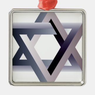 Wellcoda Star Of David Symbol Judaism Sign Christmas Ornament