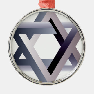 Wellcoda Star Of David Symbol Judaism Sign Christmas Ornament