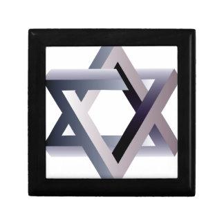Wellcoda Star Of David Symbol Judaism Sign Gift Box