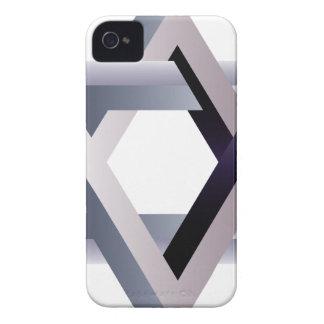 Wellcoda Star Of David Symbol Judaism Sign iPhone 4 Case