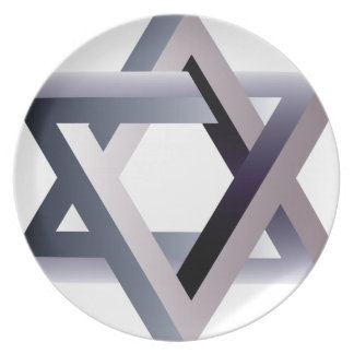 Wellcoda Star Of David Symbol Judaism Sign Plate