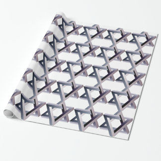 Wellcoda Star Of David Symbol Judaism Sign Wrapping Paper