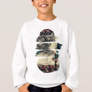 Wellcoda Statue Of Rome Print History Sweatshirt