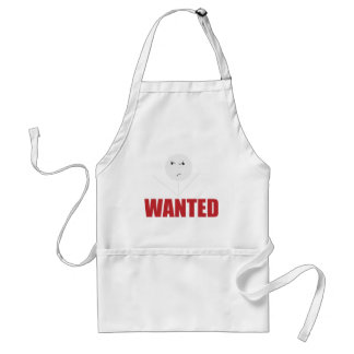 Wellcoda Stick Man Bad Mood Wanted Grumpy Standard Apron
