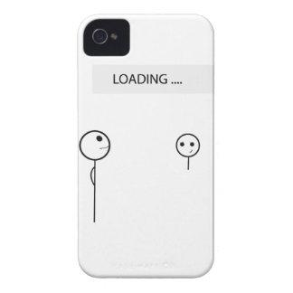 Wellcoda Stick Man Fun Loading Friendship iPhone 4 Case-Mate Cases