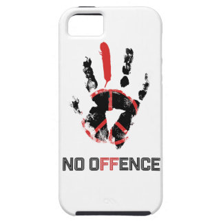 Wellcoda Stop War No Offence World Peace iPhone 5 Cover