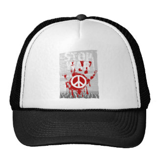 Wellcoda Stop War World Peace Soldier RAF Cap