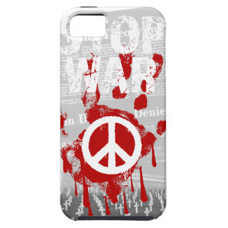 Wellcoda Stop War World Peace Soldier RAF Case For The iPhone 5