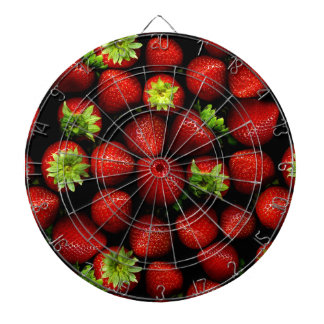 Wellcoda Strawberry Field Fruit Summer Fun Dartboards