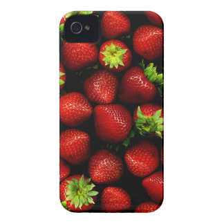 Wellcoda Strawberry Field Fruit Summer Fun iPhone 4 Cover