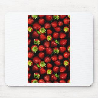 Wellcoda Strawberry Field Fruit Summer Fun Mouse Mat