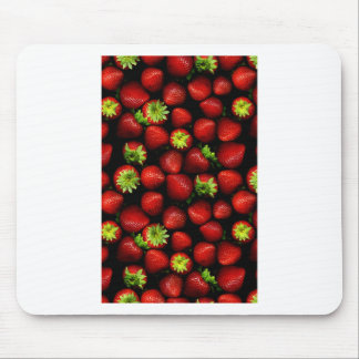 Wellcoda Strawberry Field Fruit Summer Fun Mouse Pad