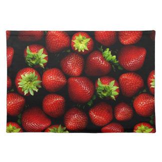 Wellcoda Strawberry Field Fruit Summer Fun Placemat