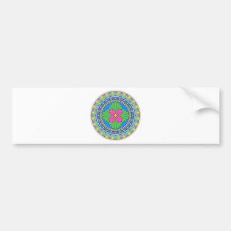 Wellcoda Style Indian Pattern Collect Fun Bumper Sticker