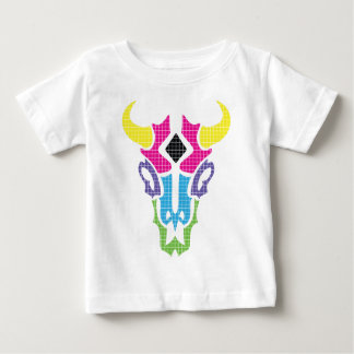 Wellcoda Summer Bull Run Head Epic Colour Baby T-Shirt