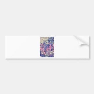 Wellcoda Summer Fields Forever Wild Bloom Bumper Sticker