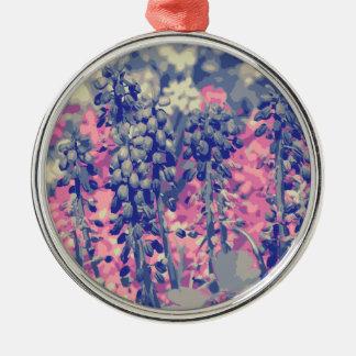 Wellcoda Summer Fields Forever Wild Bloom Christmas Ornament
