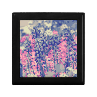 Wellcoda Summer Fields Forever Wild Bloom Small Square Gift Box
