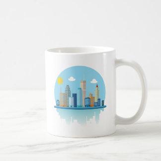 Wellcoda Sun City View Town Sydney Coast Coffee Mug