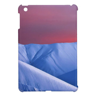 Wellcoda Sun Set Snow Mountain Ice Glacier iPad Mini Covers