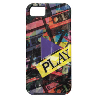 Wellcoda Tape Cassette Play Music Lover Case For The iPhone 5