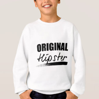 Wellcoda The Original Hipster Trend Set Sweatshirt