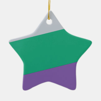 Wellcoda Three Tier Colours Holiday Fun Christmas Ornament