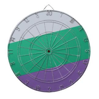 Wellcoda Three Tier Colours Holiday Fun Dartboard