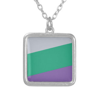 Wellcoda Three Tier Colours Holiday Fun Silver Plated Necklace