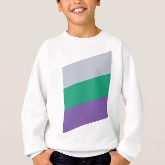 Wellcoda Three Tier Colours Holiday Fun Sweatshirt