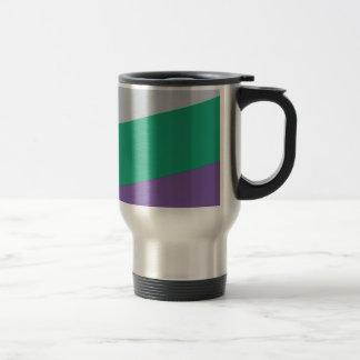Wellcoda Three Tier Colours Holiday Fun Travel Mug