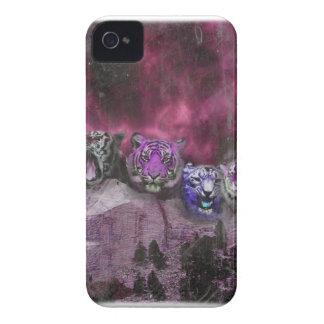 Wellcoda Tiger Head Wild Roar Wildcat iPhone 4 Case-Mate Case