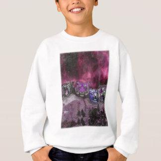 Wellcoda Tiger Head Wild Roar Wildcat Sweatshirt